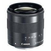 送UV保護鏡+吹球清潔組 Canon EF-M 18-55mm F3.5-5.6 IS STM 彩虹公司貨