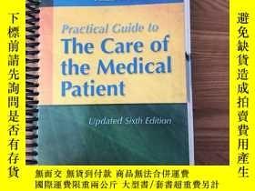 二手書博民逛書店Practical罕見Guide to the care of the medical patientY445