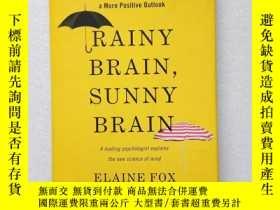 二手書博民逛書店RAINY罕見BRAIN SUNNY BRAIN(外文原版、精裝