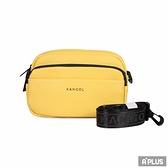 KANGOL 包 燙金小字 雙層相機包 側背包 袋鼠包 - 6025300461