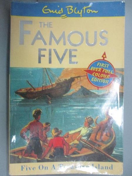 【書寶二手書T7/原文小說_OER】Five On A Treasure Island : Book 1_Enid Bl