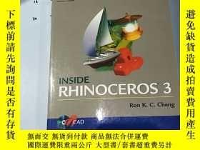二手書博民逛書店英文原版:Inside罕見Rhinoceros 3(有光盤一張)