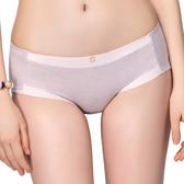 思薇爾-花紗物語樂活風系列M-XL中低腰低叉三角內褲(搖籃紫)