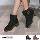 [Here Shoes]簡約帥氣設計 麂...