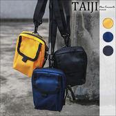 潮流小方包‧立體口袋可扣腰間單肩兩用帆布小方包‧三色【NXA00305】-TAIJI-