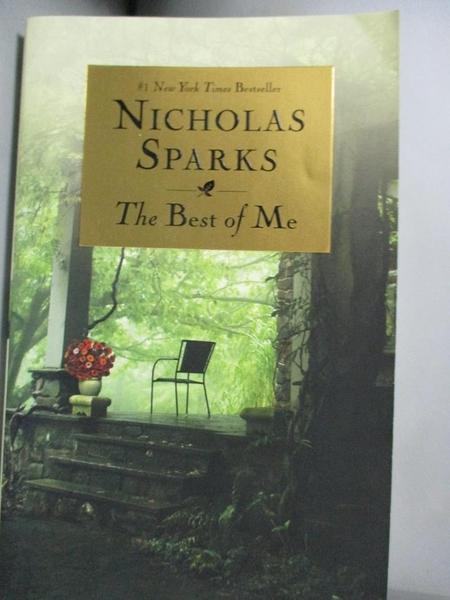 【書寶二手書T5/原文小說_HEW】The Best of Me_Sparks, Nicholas