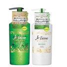 日本高絲KOSE 無矽靈亮澤柔順洗髮精/潤絲精-綠 清爽型/清新草本500ml