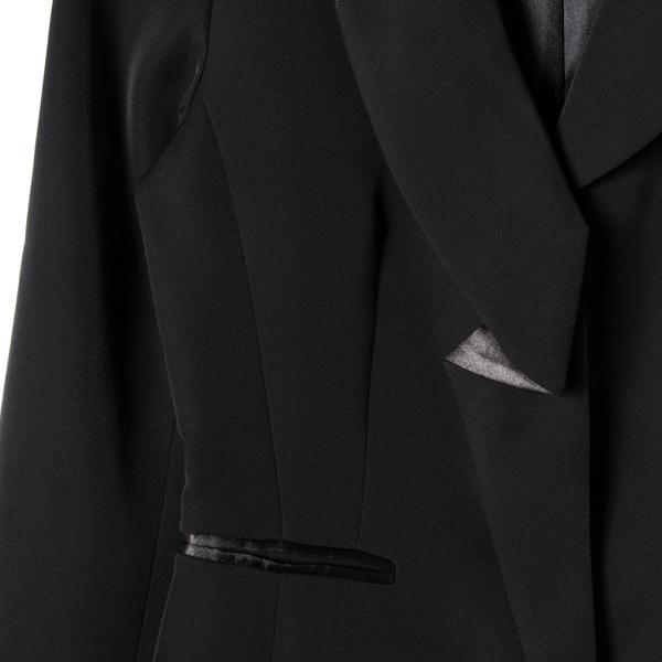 【MASTINA】包邊假口西裝外套-黑 下殺百元外套