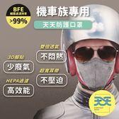天天 機車族立體活性碳口罩