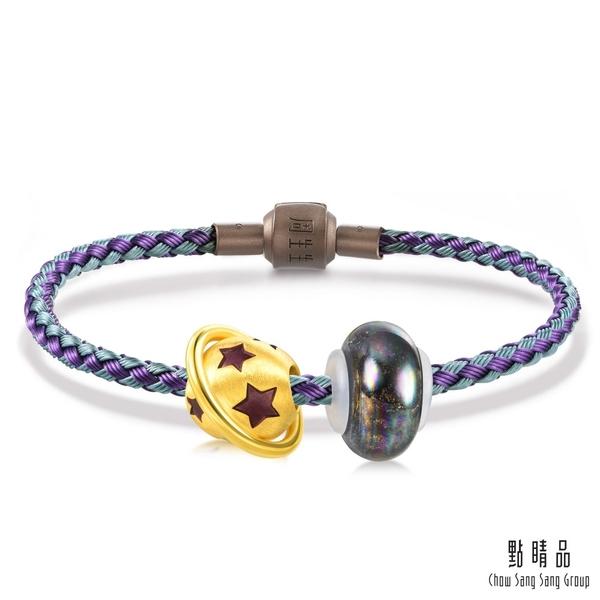 戀愛星球 彩色琉璃黃金串珠手環