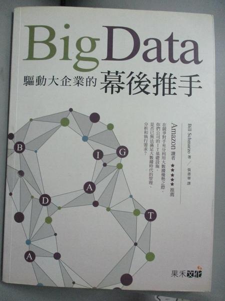 【書寶二手書T1/財經企管_XES】Big Data-驅動大企業的幕後推手_Bill Schmarzo