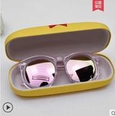 兒童眼鏡太陽鏡男童女童墨鏡韓國防紫外線眼鏡寶寶太陽眼鏡潮 夏季上新