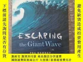 二手書博民逛書店Escaping罕見the Giant WaveY162251