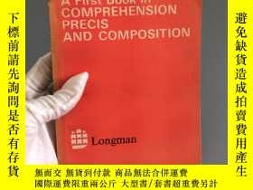二手書博民逛書店A罕見First Book in Comprehension, Precis and CompositionY