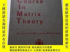二手書博民逛書店A罕見Short Course in Matrix Theory