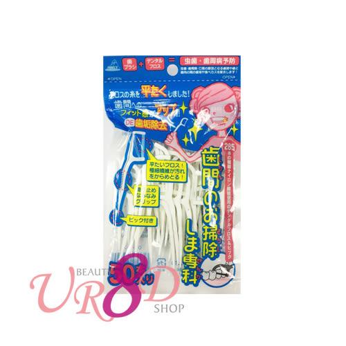 日本 ANNECY 齒間掃除專科牙線棒50P (OC-80)【UR8D】