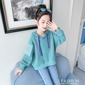 女童秋裝衛衣加絨2019新款韓版潮中大兒童裝小女孩超洋氣網紅上衣-ifashion