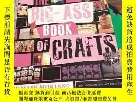 二手書博民逛書店The罕見Big-ass Book Of CraftsY2678
