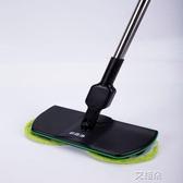 無線電動拖把家用自動旋轉木地板打蠟全自動擦地機多功能        艾維朵
