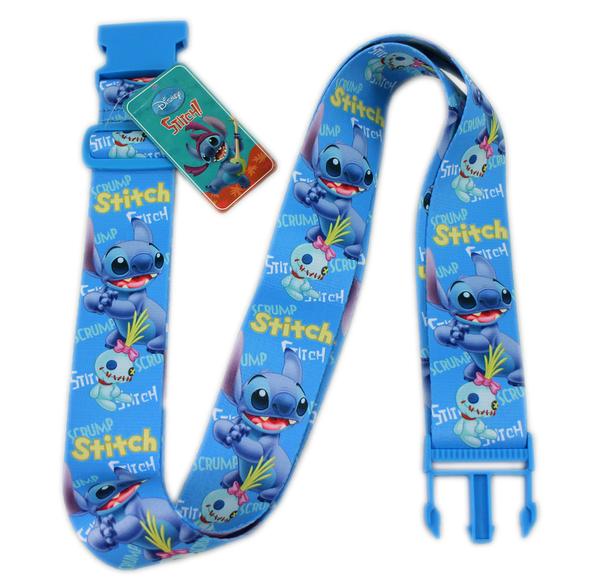 【卡漫城】 史迪奇 行李箱 束帶 ㊣版 港版 Stitch 固定帶 星際寶貝 醜丫頭 Scrump 外星人 旅行 行李