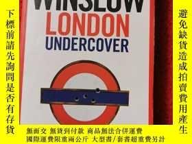 二手書博民逛書店London罕見undercover Don Winslow 德