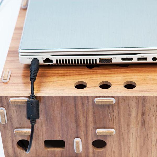銀幕架 護頸筆記本電腦顯示器屏增高架支架辦公室桌面收納盒鍵盤置物架子