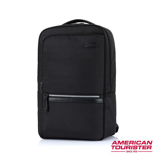 AT美國旅行者 Marion 輕量智慧型袖套筆電後背包15.6吋(黑)