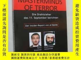 二手書博民逛書店德文原版插圖本罕見Masterminds of terror:D