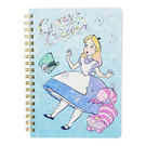 DISNEY 愛麗絲日本製B6線圈方格筆記本(漸層閃耀)★funbox★sun-star_UA57100