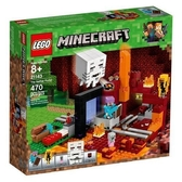 LEGO 樂高 Minecraft the Nether Portal 21143 (470 Piece)
