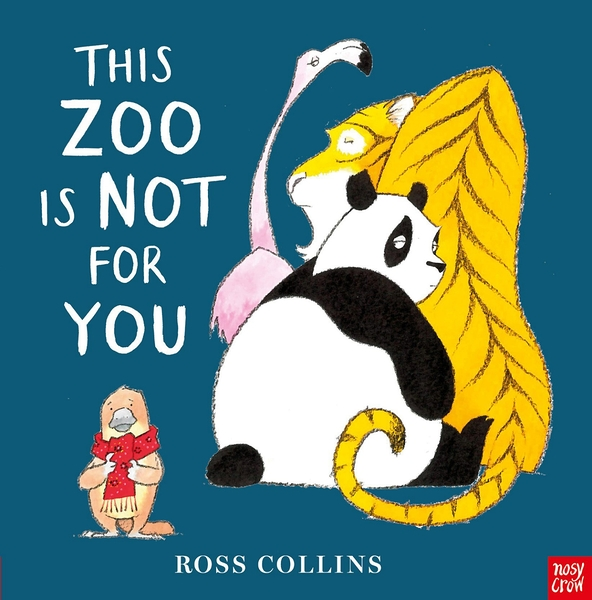 【麥克書店】THIS ZOO IS NOT FOR YOU/ 英文繪本《主題: 動物.幽默.自我認同》
