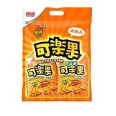 可樂果豌豆酥-辣味組合包4入【愛買】