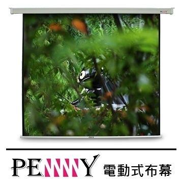 適用會議教學使用~台灣專業保固PENNY PS-150 (1:1)150吋電動布幕 安裝簡易