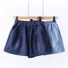 女童牛仔短褲 女童牛仔短褲外穿百搭夏季中大童寬鬆薄款洋氣時髦兒童褲子-Ballet朵朵