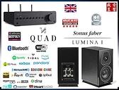 『盛昱音響』義大利製 Sonus Faber Lumina I 喇叭 + 英國 Quad Vena II PLAY - 音響組合