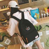 學院風雙肩後背包 女學生韓版書包《印象精品》b1610