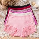 女性蕾絲中腰褲 雙倍蕾絲 台灣製造 No.8813-席艾妮SHIANEY