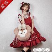 小洋裝 人形師微渺洋裝Lolita學生日常小裙子可愛蘿莉寬鬆日繫軟妹連身裙 【全館9折】