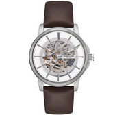 Kenneth Cole國際品牌都會型男鏤空機械時尚腕錶KC50227004公司貨/禮物/精品