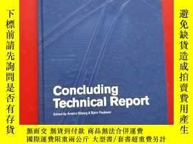 二手書博民逛書店CONCLUDING罕見TECHNICAL REPORT 總結性技術報告Y203616 INNOTRACK E