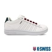 K-SWISS Court Casper II S時尚運動鞋-女-白/藍/紅
