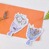 【BlueCat】糖詩美麗花束只聞花香系列便利貼 N次貼 便條紙