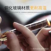 華韻時尚玻璃煙斗老式進口玻璃便攜全套煙具配件過濾器煙斗煙嘴  Cocoa