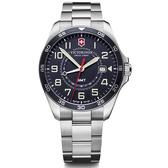 VICTORINOX 維氏 FieldForce系列 異地穿梭者 兩地時間腕錶 VISA-241896
