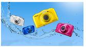 【贈吹球+拭鏡布+拭鏡筆+清潔液+拭鏡紙】Nikon COOLPIX W100 (公司貨) 6/30登錄送漂浮手腕帶