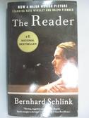 【書寶二手書T1/原文小說_NDJ】The Reader_BERNHARD SCHLINK