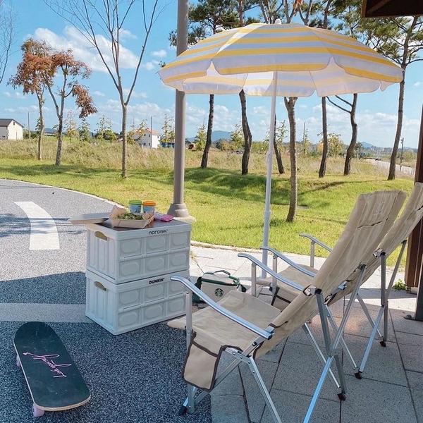 Nordisk大白熊收納箱折疊箱戶外露營箱桌車載后備箱塑料野營裝備【雙十國慶限購】