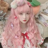 假髮 髮套女全頭逼真整頂長髮全頭套長捲髮lolita劉海cosplay全套頭【樂淘淘】