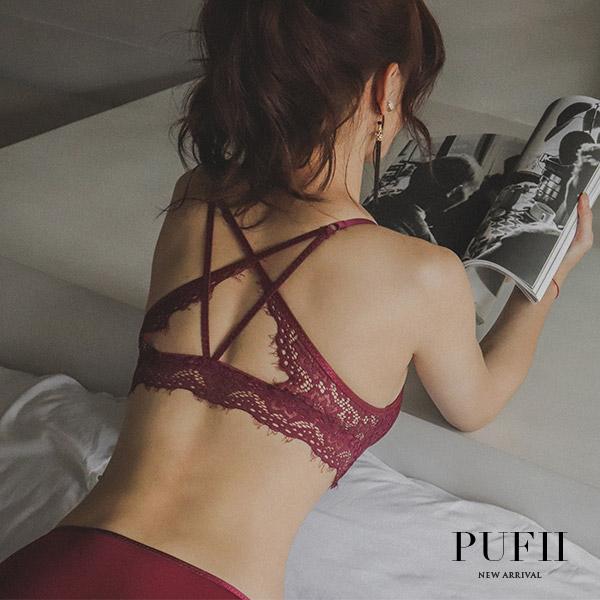 限量現貨◆PUFII-內衣褲組 集中前釦美背內衣褲組-0328 現+預 春【CP16129】