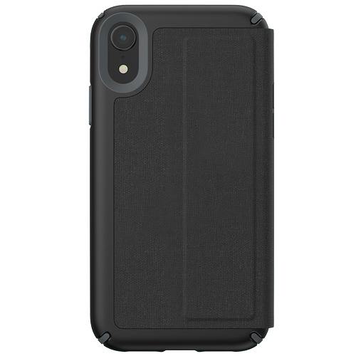 Speck Presidio Folio iPhone XR 針織紋側翻防摔保護套